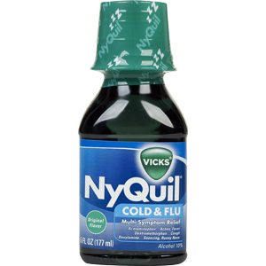 Can I give my cat Nyquil?